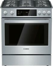 Bosch 30  Slide In Gas Range Convection Technology HGI8056UC Detailed Images