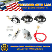3387134 High Limit Thermostat Cycling Thermostat Set for whirlpool kenmore Dryer
