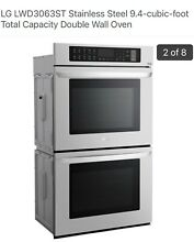 BRAND NEW LG 30 in  Double Electric Wall Oven Self Cleaning Stainless Steel