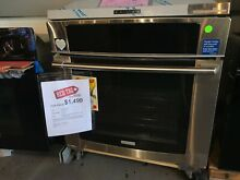 Electrolux 30  single wall oven w wave touch controls