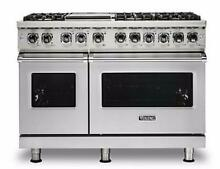 Viking Professional 5 Series VDR5486GSS 48  Dual Fuel Range With 6Sealed Burners
