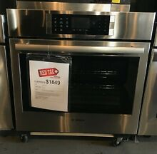 Bosch 800 Series 30  Single Electric Wall Oven    OPEN BOX