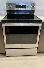 GE Profile Oven 30  Smart Free Standing Electric Convection PB935 Westlake 33470