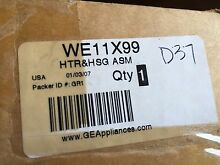 NEW WE11X99 GE DRYER HEATER AND HOUSING ASSEMBLY