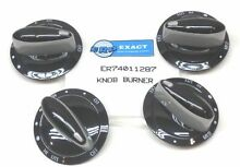 74011287 4 PACK for Maytag Gas Range Burner Knob Black PS2088607 AP4100044