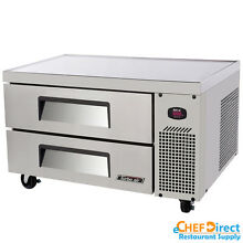 Turbo Air TCBE 36SDR N6 36  Two Drawers Refrigerated Chef Base