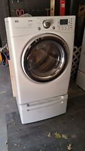 LG Tromm Washer  WM2688HWM  and Dryer  DLE18377WM  2008