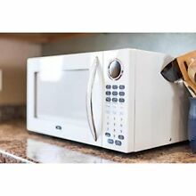 NEW  Oster Digital Microwave Oven 1 1 Cu  Ft  1000 Watt Kitchen Countertop White