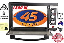 Big 45L 1800W Convection Rotisserie BBQ Roaster Bake Family Electric Bench Oven