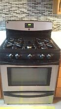 30  Kenmore 5 burner Gas Range  black stainless steel