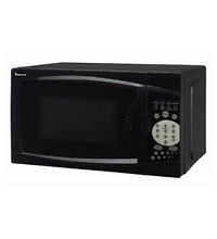 New Magic Chef MCM770B 0 7 Microwave Oven Black