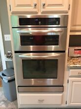Kitchen Aid Convection Oven Microwave Combination Wall Unit