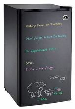 Igloo Mini Compact Personal Refrigerator Fridge with Eraser Board Door for Dorm