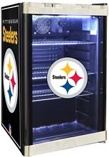 Pittsburgh Steelers 4 6 cu  ft  Refrigerated Beverage Center