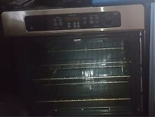 GE Stainless Steel Oven Double Doors  54  Tall