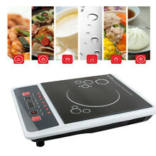 2000W Electric Induction Cooktop Portable Kitchen Ceramic Cooker Cook Top