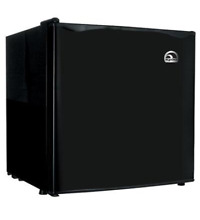 New Curtis FR100 BLACK Igloo 1 6 Cu Ft Bar Fridge Blk
