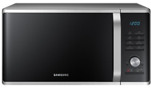 Stainless Steel Microwave Oven Countertop Black Silver Kitchen Appliances New