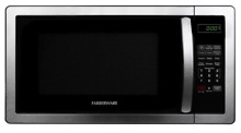 Stainless Steel Microwave Oven Premium Countertop Microwaves Kitchen 1 1 cu ft