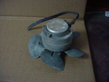 Kenmore Refrigerator Condensor Fan Motor Assembly Needs Re Wire Part   215501901