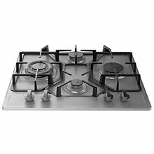 Empava Cooktops 24  HQ4B67A Stainless Steel Built in Burners Stove Gas Hob Fixed