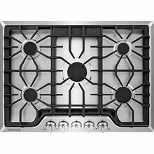 Frigidaire Cooktops FGGC3047QS 30  Gas Cooktop  Stainless Steel