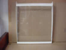White Westinghouse Fridge Glass Shelf in Frame Part   240373108 240350623