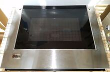 NEW GE Monogram Oven Door Panel WB57T10272  1167934  SATISF GUAR FREE EXP SHIP