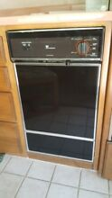White Westinghouse Built In Dishwasher SU182NXR1 18  Black RV Motorhome Safari