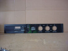 Whirlpool Double Oven Control Panel Part   3148637