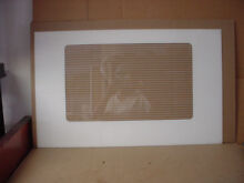 Maytag Range Main Outer Door Glass Part   74003671