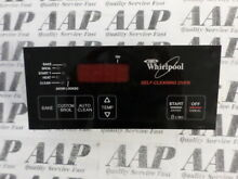 6610266 Whirlpool Black Stove Range Control  1 Year Guarantee  Same Day Ship