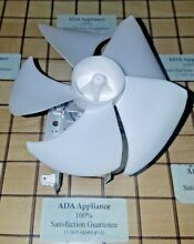 Thermador Microwave Fan Motor   Blade 00491182  1052598 SATSF GUAR FREE EXP SHIP