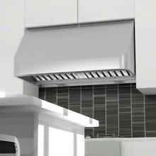 48  PRO 1000 CFM STAINLESS STEEL UNDER MOUNT CABINET RANGE HOOD LED 520 48