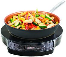 NuWave 30153 Lightweight Induction Cooktop With 9 in Fry Pan  10 8 A  1300 W  Bl