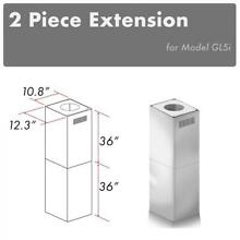 ZLINE CHIMNEY EXTENSION for ISLAND RANGE HOOD UPTO 12 FT ceiling for GL5i model