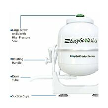 EasyGo Washer   Manual Clothes Washer   Mobile Hand Powered   Portable Washing