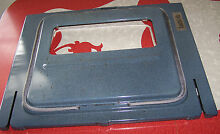 GE   Hotpoint   Kenmore 24  WALL OVEN INNER DOOR ASSEMBLY   MORE SEE PICS   EUC