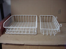 GE Refrigerator Freezer Upper Basket Set Part   WR71X10366