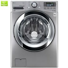 4 5 cu  ft  High Efficiency Front Load Washer with Steam in Graphite Steel  ENER