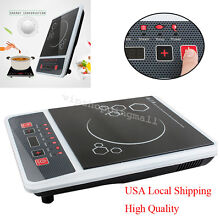 Practical Digital Electric Induction Cooktop Countertop Burner Cooker 2000W USA