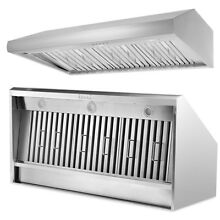 THOR KITCHEN 48  Under Cabinet Stainless Steel Range Hood Stove Vents 3 Speed US