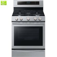 30 in  5 8 cu  ft  Single Oven Gas Range with Self Cleaning and True Convection