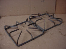 Hotpoint Gas Range Burner Grate w  Some Stains Set of 2 Part   WB31K10043