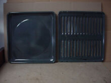 Hotpoint Gas Rang Broiler Pan Set w  Some Light Staining Part   WB48K02 WB49K02