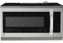 NEW FREE SHIP Kenmore 87583 2 2 cu  ft  Over the Range Microwave Stainless Steel