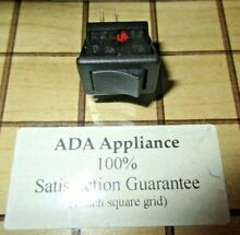 Jenn Air Oven Light Switch Black 71001192 SATISFACTION GUARANTEED
