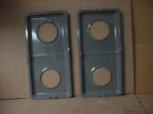 Jenn Air Range Drip Pan Set w  Some Staining Part   71003039