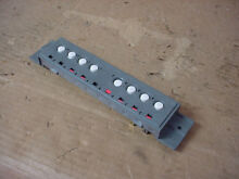 Fisher   Paykel Dryer Switch Assembly Part   WE4M348