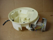 Thermador Dishwasher Motor Assembly Part   01 37 672